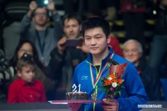 China sweeps golds in ITTF Worl